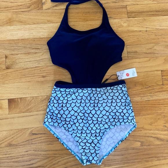 d84ab7fe6a Swim | Womens Mermaid Fashion Onepiece Size S Nwt | Poshmark
